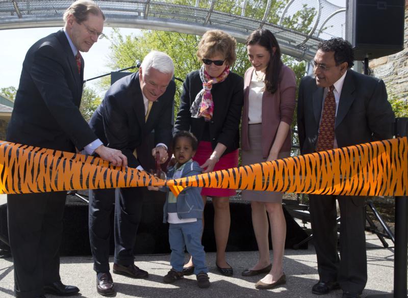 Opening of Big Cat Crossing at Philadelphia Zoo
