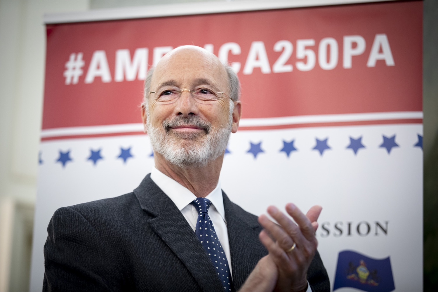"""<a href=""""http://filesource.abacast.com/commonwealthofpa/photo/17424_GOV_AMERICA250_CZ_15.JPG"""" target=""""_blank"""">⇣Download Photo<br></a>Pennsylvania officially recognized the members of the America250PA commission at a swearing-in ceremony held at the Governors Residence on September 17, 2019."""