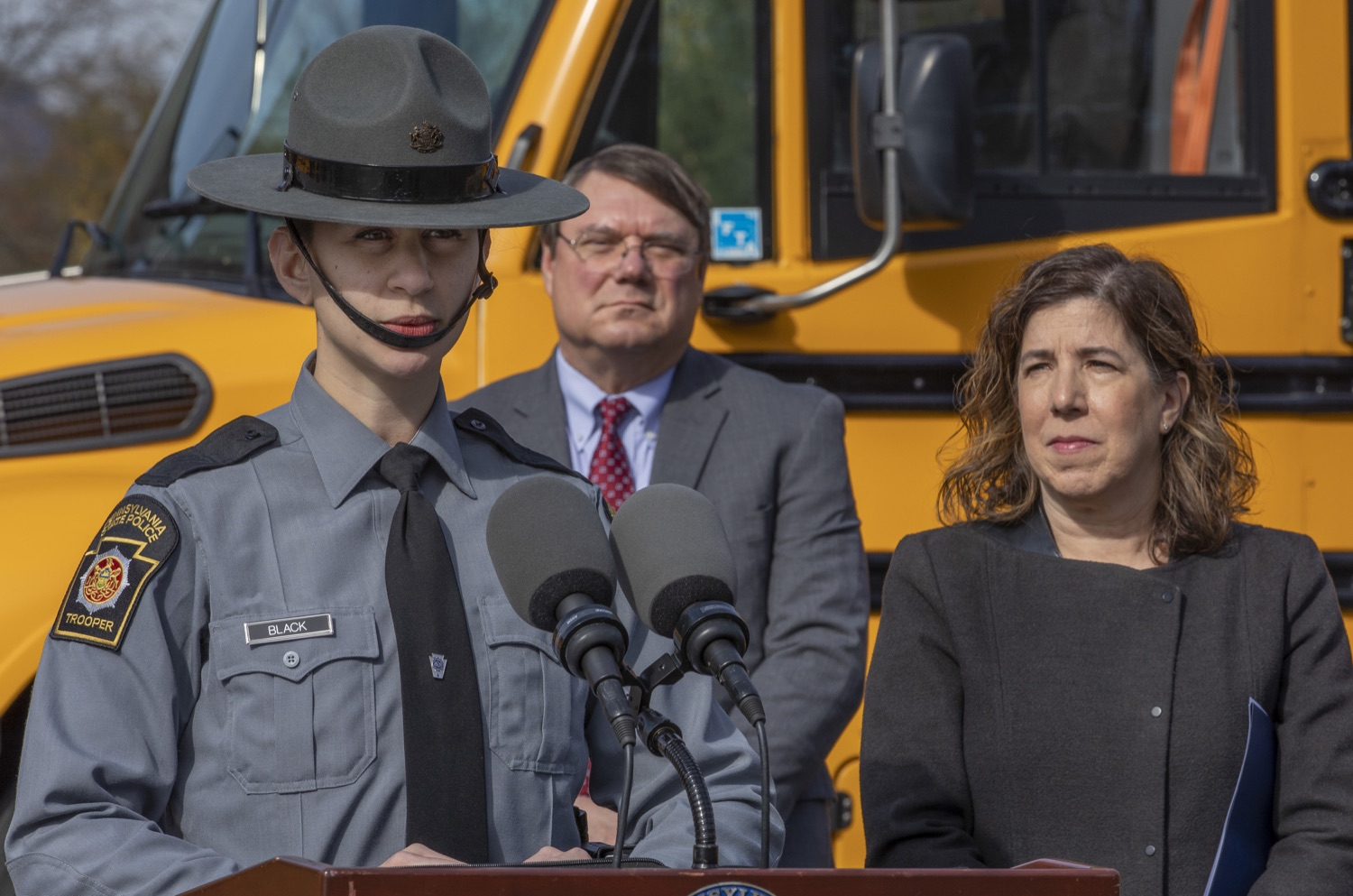 """<a href=""""http://filesource.abacast.com/commonwealthofpa/photo/17458_pdot_safeStop_0016.jpg"""" target=""""_blank"""">⇣Download Photo<br></a>Wolf Administration Stresses School Bus Safety, Announces Results of Enforcement Initiative"""