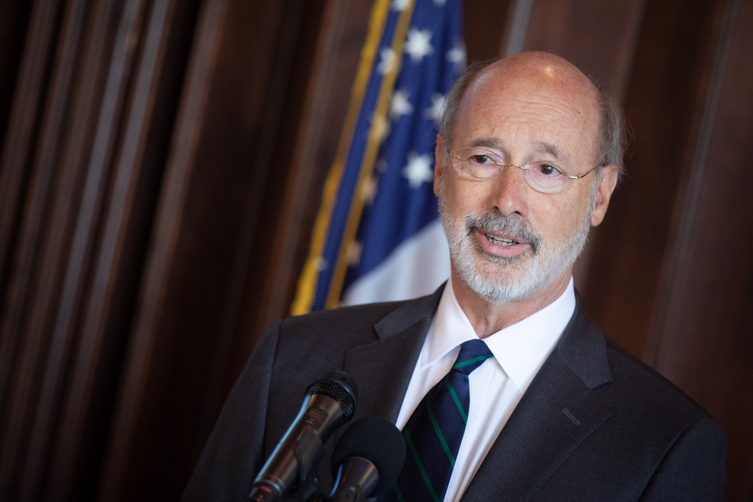 "<a href=""http://filesource.abacast.com/commonwealthofpa/photo/17467_gov_opioids_dz_003.JPG"" target=""_blank"">⇣ Download Photo<br></a>Boalsburg, PA  Governor Tom Wolf addressing the summit. Governor Tom Wolf today kicked off his administrations first Opioid Command Center Opioid Summit: Think Globally, Act Locally, which brought together 200 individuals helping their communities fight the opioid crisis, including community organizations, non-profits, schools, health care workers, addiction and recovery specialists, and families affected by the opioid crisis.  Tuesday, October 1, 2019"
