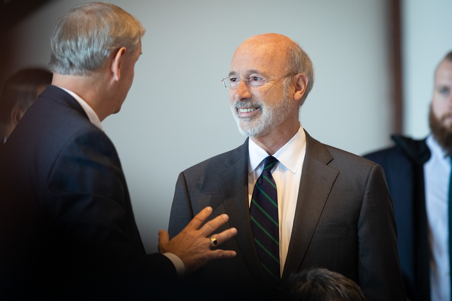 "<a href=""http://filesource.abacast.com/commonwealthofpa/photo/17467_gov_opioids_dz_019.JPG"" target=""_blank"">⇣ Download Photo<br></a>Boalsburg, PA  Governor Tom Wolf speaking with summit attendees.  Governor Tom Wolf today kicked off his administrations first Opioid Command Center Opioid Summit: Think Globally, Act Locally, which brought together 200 individuals helping their communities fight the opioid crisis, including community organizations, non-profits, schools, health care workers, addiction and recovery specialists, and families affected by the opioid crisis.  Tuesday, October 1, 2019"