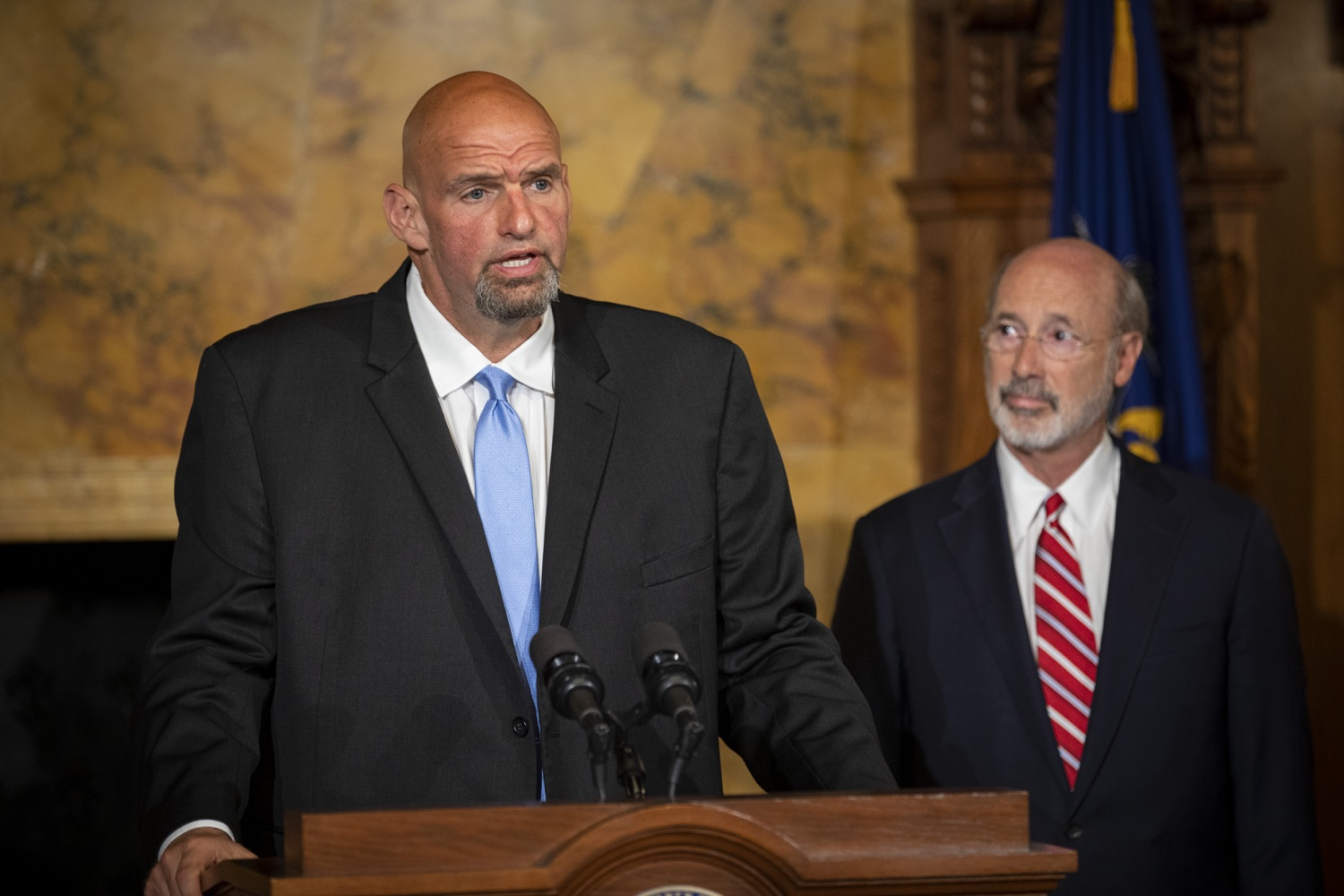 "<a href=""http://filesource.abacast.com/commonwealthofpa/photo/17468_GOV_BOP_DE_004.jpg"" target=""_blank"">⇣ Download Photo<br></a>Gov. Wolf, Lt. Gov, Pardons Board Provide Update on Pardons Process, Benefit to Those with Marijuana Convictions"
