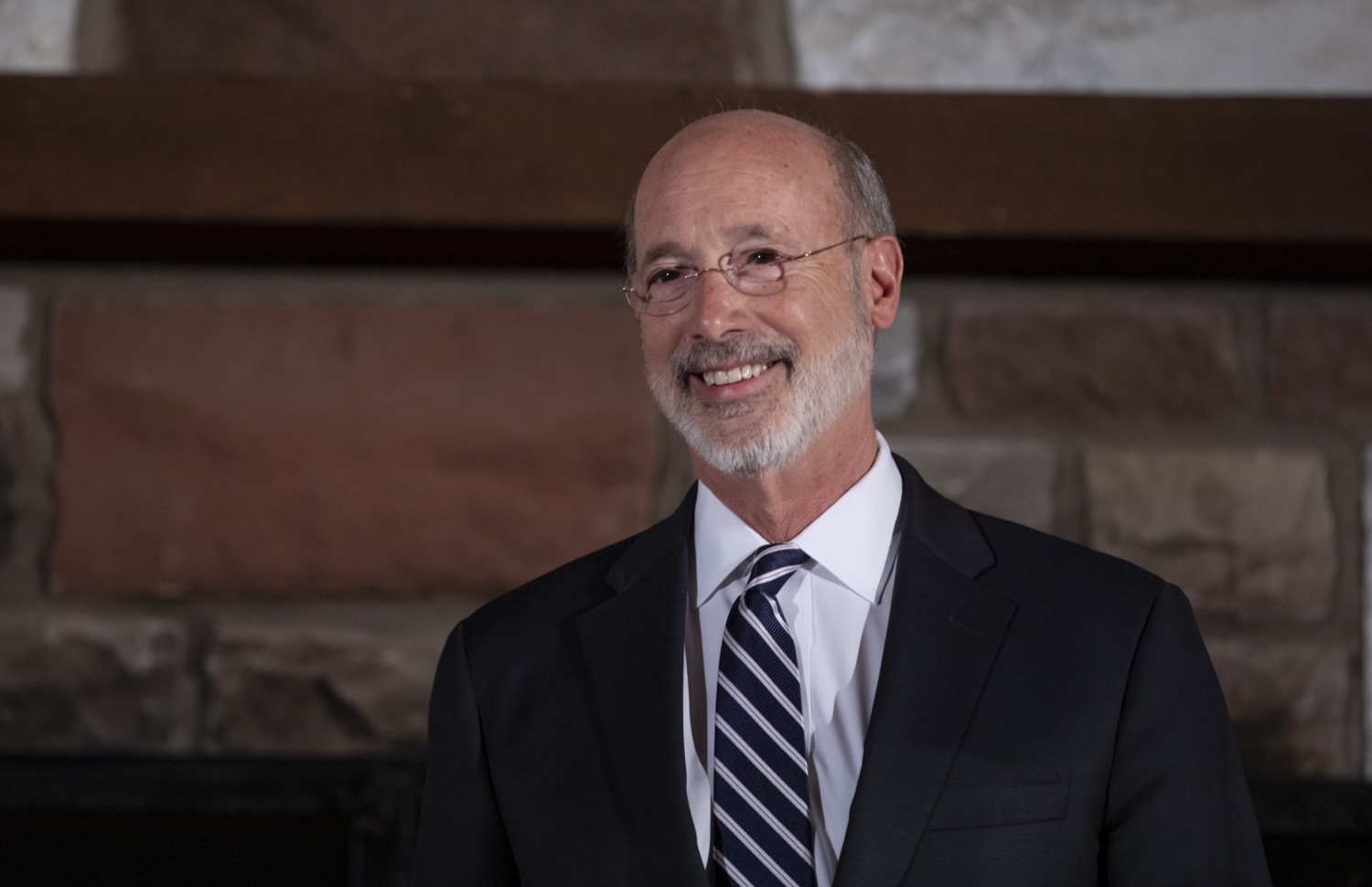 """<a href=""""http://filesource.abacast.com/commonwealthofpa/photo/17557_gov_dmva_rjw_019.jpg"""" target=""""_blank"""">⇣Download Photo<br></a>Governor Tom Wolf helped to honor two members inducted today into the Pennsylvania Department of Military and Veterans Affairs prestigious Hall of Fame, recognizing their exceptional service to the department that supports Pennsylvanias nearly 800,000 veterans and 18,000 members of the National Guard.  Chief Warrant Officer 5 (ret.) John K. Schreier of Selinsgrove, Snyder County; and John A. Brenner (posthumously) of Mt. Wolf, York County, are the 2019 inductees."""