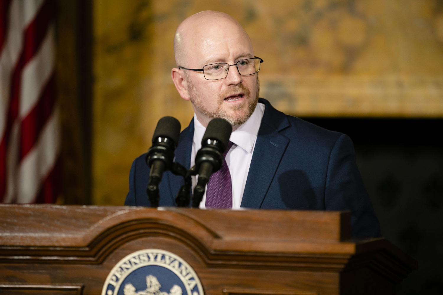 "<a href=""http://filesource.abacast.com/commonwealthofpa/photo/17564_GOV_aca_amb_011.jpg"" target=""_blank"">⇣ Download Photo<br></a>Governor Tom Wolf and Insurance Commissioner Jessica Altman advised Pennsylvanians that now is the time to buy health insurance on the federal exchange, healthcare.gov, as open enrollment continues for Affordable Care Act (ACA) plans through Dec. 15. Consumers have more options in Pennsylvania, and many will find they qualify for subsidies. November 7, 2019. Harrisburg, PA."