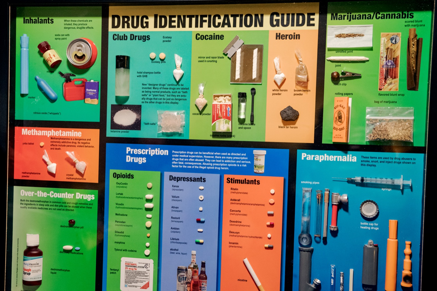 "<a href=""http://filesource.abacast.com/commonwealthofpa/photo/17596_DDAP_Psychostimulants_NK_009.JPG"" target=""_blank"">⇣ Download Photo<br></a>Various drugs and drug paraphernalia on display during a symposium addressing the rising trend of stimulant usage across the commonwealth, at the Best Western Premier in Harrisburg on Tuesday, November 19, 2019."