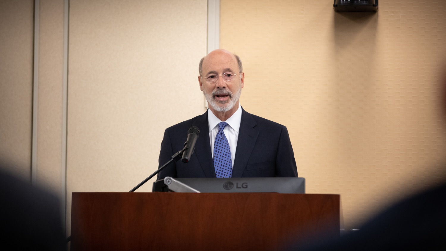 "<a href=""http://filesource.abacast.com/commonwealthofpa/photo/17598_gov_charter_schools_dz_009.jpg"" target=""_blank"">⇣ Download Photo<br></a>Pennsylvania Governor Tom Wolf speaks about charter school reform at a meeting of the Pennsylvania Association of School Administrators.  Governor Tom Wolfs commonsense plan to improve the educational quality of charter schools and control rising costs will save nearly $280 million a year, the governor told the Pennsylvania Association of School Administrators today. The governor has a three-part plan to fix Pennsylvanias charter school law which is regarded as one of the worst in the nation.  - Harrisburg, PA. Friday, November 15, 2019."