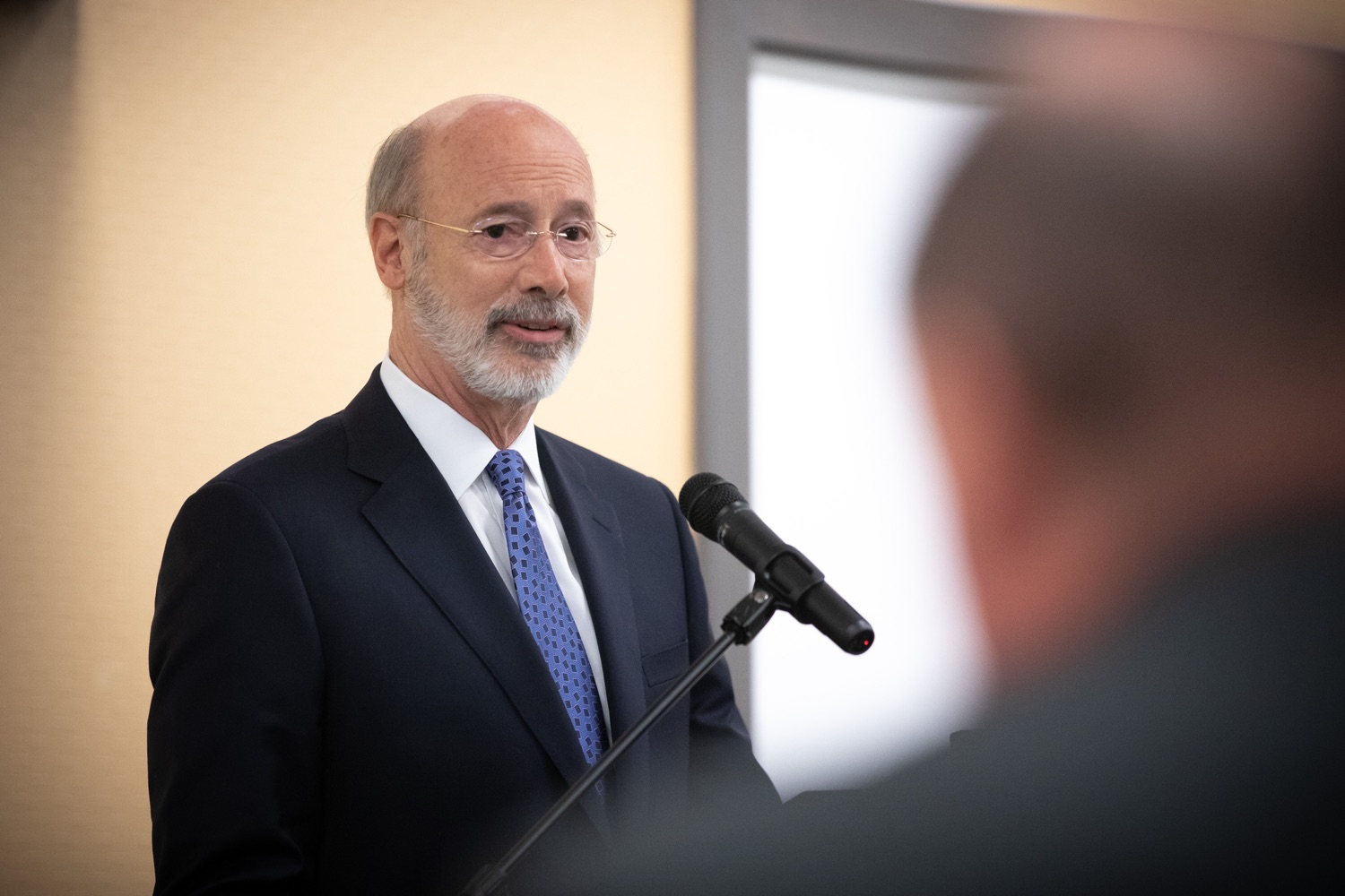 "<a href=""http://filesource.abacast.com/commonwealthofpa/photo/17598_gov_charter_schools_dz_019.jpg"" target=""_blank"">⇣ Download Photo<br></a>Pennsylvania Governor Tom Wolf speaks about charter school reform at a meeting of the Pennsylvania Association of School Administrators.  Governor Tom Wolfs commonsense plan to improve the educational quality of charter schools and control rising costs will save nearly $280 million a year, the governor told the Pennsylvania Association of School Administrators today. The governor has a three-part plan to fix Pennsylvanias charter school law which is regarded as one of the worst in the nation.  - Harrisburg, PA. Friday, November 15, 2019."