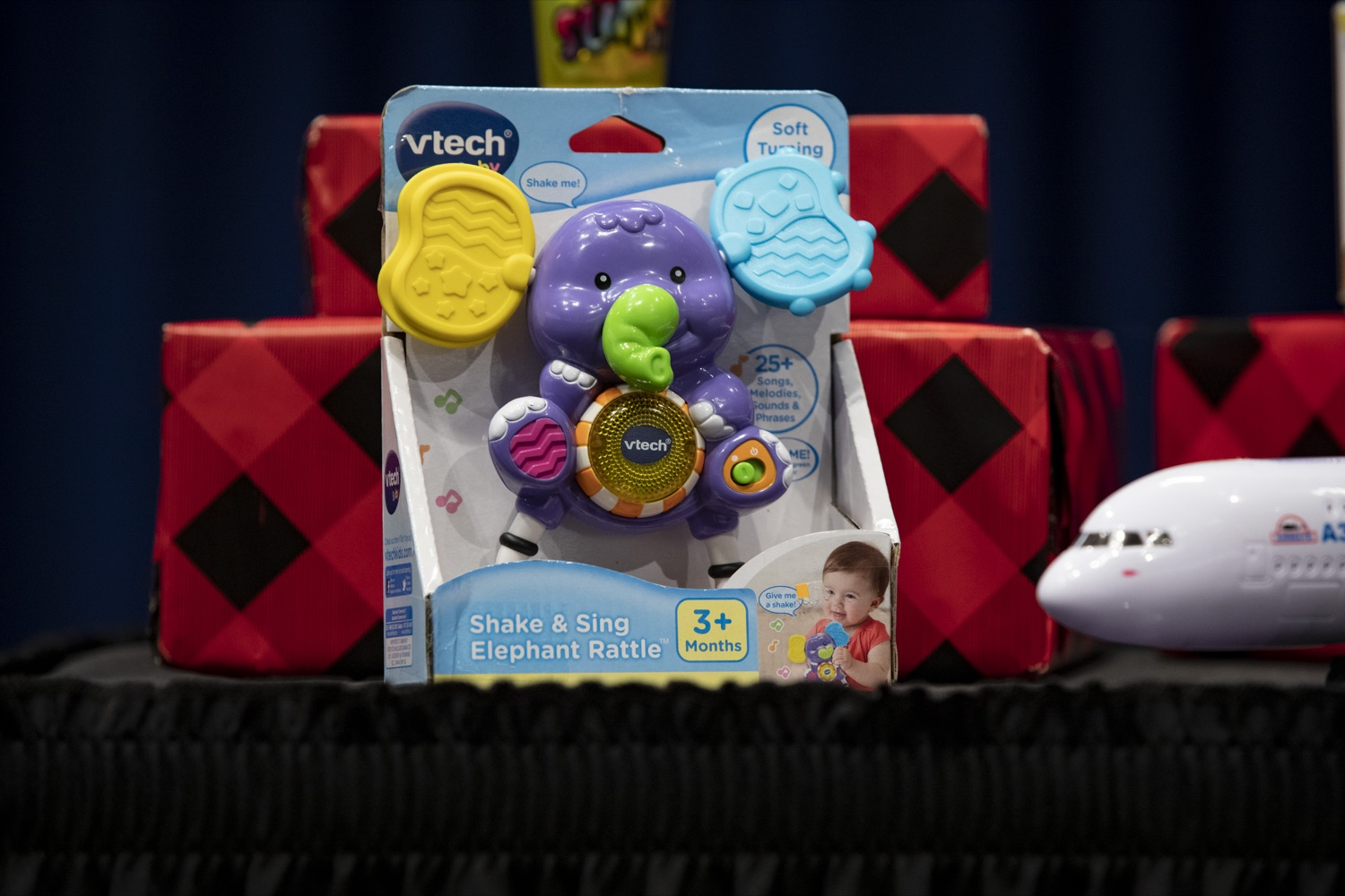 """<a href=""""http://filesource.abacast.com/commonwealthofpa/photo/17610_AUDGEN_TOY_SAFETY_CZ_11.JPG"""" target=""""_blank"""">⇣Download Photo<br></a>Auditor General Eugene DePasquale warns that recalled toys are commonly still found on store shelves, at the Harrisburg Capitol on November 21, 2019."""