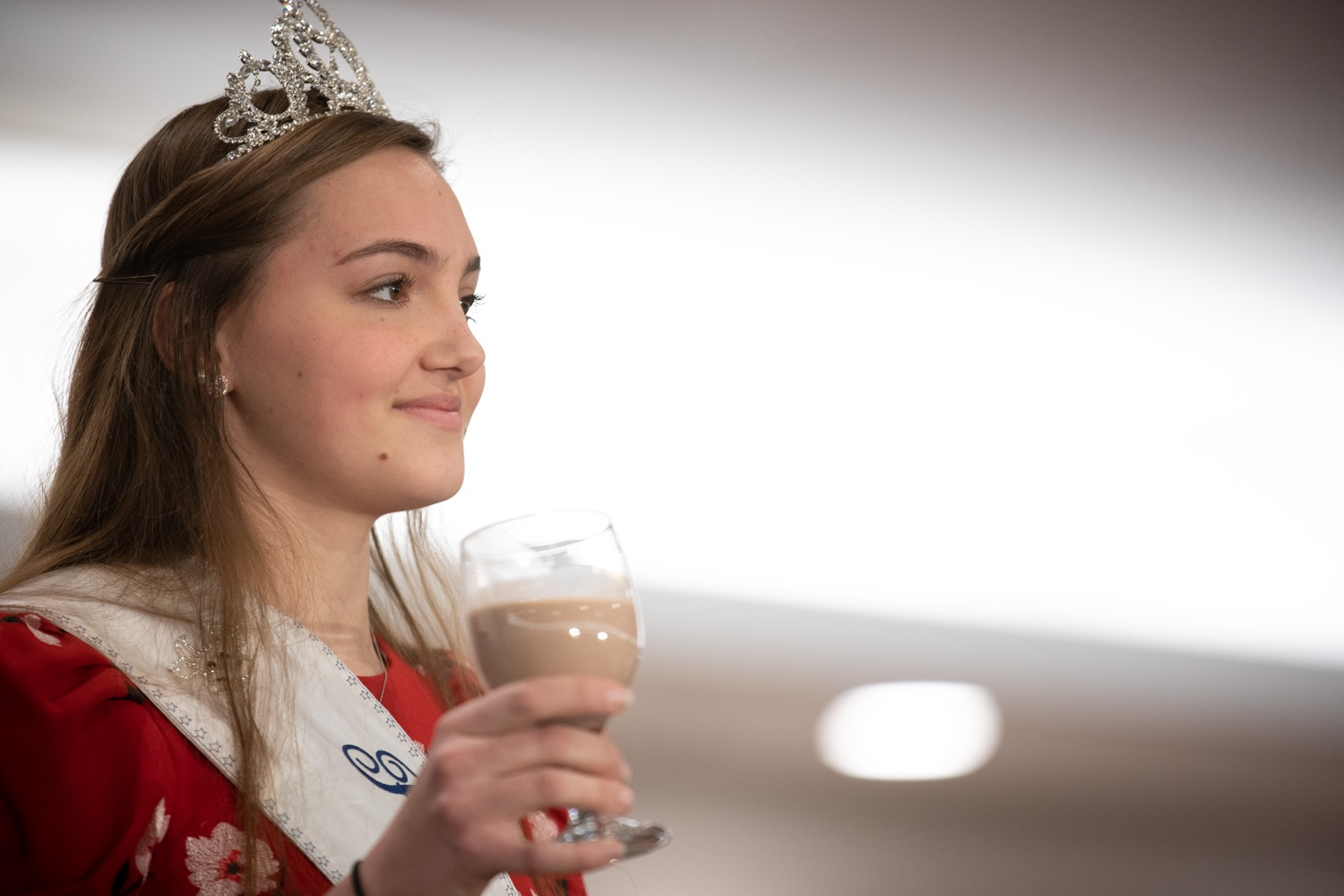 "<a href=""http://filesource.abacast.com/commonwealthofpa/photo/17650_agric_public_officials_day_dz_003.jpg"" target=""_blank"">⇣ Download Photo<br></a>Paige Peiffer PA Dairy Princess offering up the Milk Toast at Public Officials Day.  Addressing nearly 800 public officials at the Pennsylvania Farm Show today, Agriculture Secretary Russell Redding announced the opening of the last grant program made possible by the 2019 PA Farm Bill. The $1 million Farm Vitality Grant Program aims to enhance the long-term health and vitality of Pennsylvanias family farms. Harrisburg, PA  January 08, 2020"